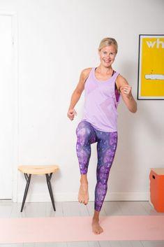 Kotitreeniohjeet - Rasvanpolttojumppa 20 min | Keventäjät.fi Health Fitness, Gym, Workout, Sports, Wellness, Training, Fashion, Hs Sports, Moda