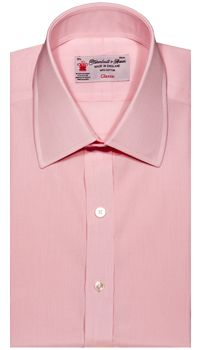 Turnbull & Asser - End-on-End Shirt in Pink