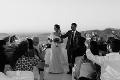 Wedding Abroad in Santorini with Cinzia Bruschini | Fly Away Bride