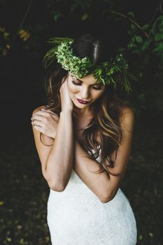 Romantic Bohemian bridal beauty inspiration: @partyonbrides Bridal Fashion Show 10.16 @ The Arbor Loft feat. @lovelybridal @sohd and @dancedena ! Tickets here: http://rochesterindieweddings.com/bridalshows/