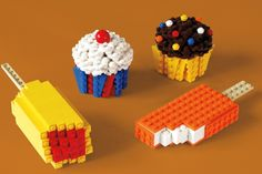 Beautiful LEGO Books by Mike Doyle