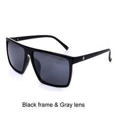 a3d5a49fe0 Pro Acme Square Sunglasses Men Brand Designer Mirror Photochromic Oversized Sunglasses  Male Sun glasses for Man