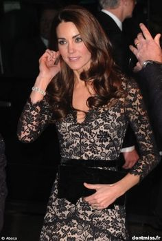 Kate Middleton. She is an amazing fashion icon. What would Kate wear? ;)