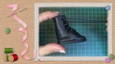 Tutorial Miércoles Addams: Botas / Wednesday Addams Tutorial: Boots