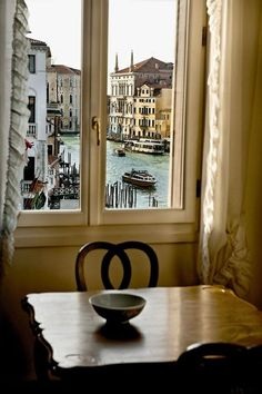 Window - Venice, Italy.