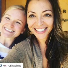 Better late than never!  Repost from the gorgeously talented @rushwahine after our lunch date at Bistro Cassanova.  #Maui ladies get excited for what's to come!