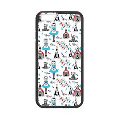 CaseCoco:Alice In Wonderland Patterns Case for iPhone 6  -$17.95  Casecoco.com