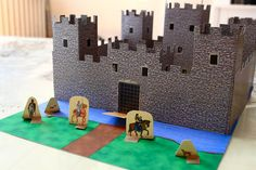 Cool castle model to make