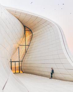 Heydar Aliyev Center | Zaha Hadid Architects   #