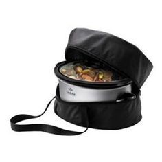 Potluck? carry your cooker w/ this thermal insulated Crock-Pot SCBAG Travel Case, only  $12.99