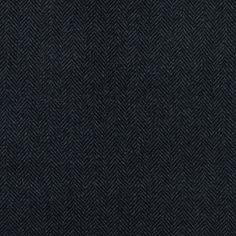 Cavalli Black and Gray Herringbone Double Faced Cashmere Coating - Double Face - Wool - Fashion Fabrics