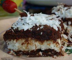 FONDANT AU CHOCOLAT AU COEUR NOIX DE COCO  Ingrédients :  200 gr de chocolat noir 80 gr de sucre 70 gr de beurre 30 gr de farine fluide 3 œufs  Pour le cœur coco  20 cl de lait de coco 60 gr de noix de coco râpée 75 ml de lait concentré sucré 40 gr de maïzena  Préparation :  Le fondant au chocolat Faire fondre le chocolat avec le beurre Y ajouter le sucre et bien mélanger au fouet ou au mixer (ici) Ajouter les œufs 1 à 1 en mélangeant. Saupoudrer la farine petit à petit et bien mélanger. La…