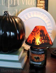 Halloween decor: setting the scene with candles