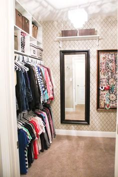 Design Inspiration - Closet Back Wall, visible from Living Area