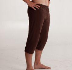 Inner Waves Organics Mens Mana Crop Pants Choice of Colors | www.downdogboutique.com #yoga