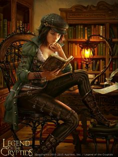 Read any good steampunk fantasy books lately? Illustration by AnotherWanderer, a. - Read any good steampunk fantasy books lately? Illustration by AnotherWanderer, anotherwanderer. 3d Fantasy, Fantasy Women, Fantasy Girl, Fantasy Artwork, Fantasy Books, Fantasy Images, Steampunk Kunst, Style Steampunk, Steampunk Fashion
