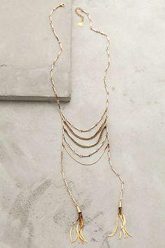 Anthropologie - Tassel Blaze Necklace