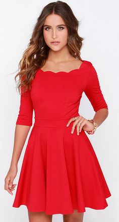 Cute dress! You can dress it up with heels for work or with a pair of jeweled flat sandals