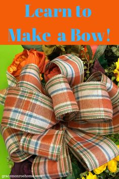 Bows diy ribbon - DIY How to Make a Bow – Bows diy ribbon Christmas Bows, Christmas Tree Toppers, How To Tie A Christmas Bow, Christmas Ribbon Crafts, Christmas Ornament, Christmas Ideas, Simple Christmas, How To Make Wreaths, How To Make Bows