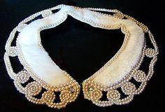Vintage Collar Necklace White Mink Fur & by BrightgemsTreasures, $34.50