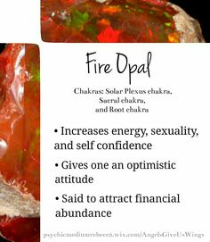 Fire Opal crystal meaning