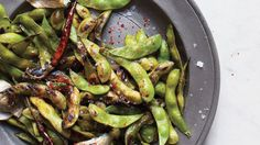 C'mon, who doesn't love edamame? Consider this recipe the adults-only version; sautéed, spicy, and highly snackable.
