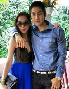 Arissa Cheo and Vanness Wu