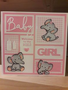 Baby Shower Cards, Baby Cards, Kids Cards, Baby Zebra, Baby Box, Baby Memories, Marianne Design, Cricut Creations, Baby Items