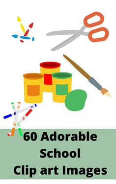 In both colour and lineart this school clipart image pack includes all the major supplies you may need to complete your craft. Not only does it have the much needed scissors, tape and glue, it also has separate scissor blades you can sandwich images between and split pins in various stages of being...split! repin for later! #schoolclipart #schoolclipartimages #cuteclipart #clipartforteachers Cute Clipart, Clipart Images, School Clipart, Classroom Crafts, Scissors, Line Art, Separate, Hand Drawn, Tape