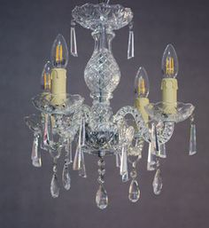 lampara de araña, lampara de cristal, lampara, lamp