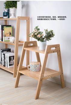 Yidai home Nordic creative step stool ladder stool white oak wood stepladder dua Living Furniture, Pallet Furniture, Furniture Making, Furniture Design, Nordic Furniture, Plywood Furniture, Chair Design, Modern Furniture, Distressed Furniture