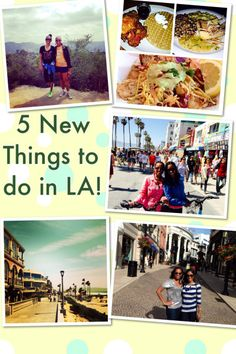 A list of fun things to do in Los Angeles!