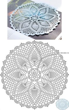 Vintage Handmade Crochet Doily Lace Lacy Doilies Wedding Decoration Home Decor Flower Mandala Dream Catcher Crocheted Pineapple Round Purple Motif Mandala Crochet, Free Crochet Doily Patterns, Crochet Mat, Crochet Doily Diagram, Crochet Dollies, Crochet Circles, Thread Crochet, Crochet Designs, Easy Crochet