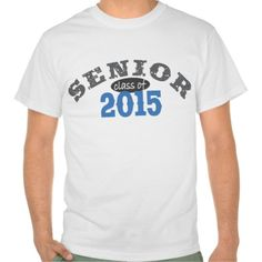Senior Class of 2015 T-shirts
