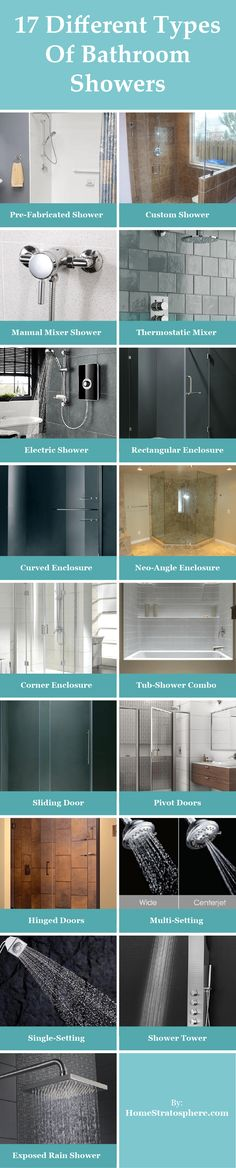 17 Different Types Of Bathroom Showers (Ultimate Buying Guide)