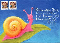 Postmarked 2012 No3 Snail Mail by *tursiart on deviantART