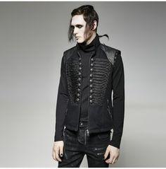 Punk Rave Men's Military Combat Tactical Vest Y 711
