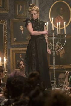 Reeve Carney as Dorian Gray/ Billie Piper as Brona Croft (Lilly) in Penny Dreadful Season 3 ep: Ebb Tide.