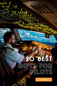 What is the best gift for a pilot? This can be tough to answer. What do you get for the pilot that has everything? Airplane models, flight manuals, or a new headset? There are many options to choose from when it comes to gifts for pilots. There are some great gift ideas out there that will make a memorable impression on them this year. Whether you're shopping for your spouse, friend, or family member who happens to be a pilot. We hope this list helps! Fun Gifts, Best Gifts, Fly Safe, Becoming A Pilot, How To Memorize Things, Things To Come, Pilot Gifts, And So The Adventure Begins, Model Airplanes