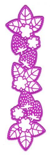 Joy! Crafts Dies - 6002-0079- StrawberriesDiesen måler ca 14.5cm x 4cm