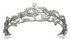 Mistletoe tiara.