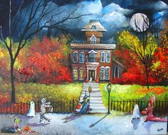 Trick or Treat by Moonlight