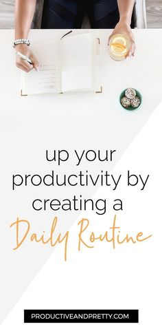 Up Your Productivity Game with a Daily Routine - Productive & Pretty - Health and wellness: What comes naturally Reverse Cavities, Remedies For Tooth Ache, Receding Gums, Productivity Hacks, Increase Productivity, Time Management Tips, Oral Health, Health Care, Dental Health