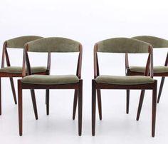 Chair rosewood teak model 31 Kai Kristiansen christensen schou andersen danish modern vintage design