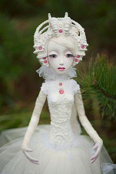 OOAK art doll Nomi
