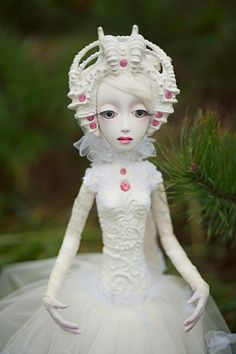 OOAK art doll Nomi by OmegaDolls on Etsy, $800.00