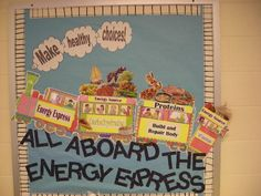 school bulletin boards of yesteryear - Yahoo Image Search Results Cafe Bulletin Boards, Cafeteria Bulletin Boards, Nutrition Bulletin Boards, Elementary Bulletin Boards, Preschool Bulletin Boards, Cafeteria Decor, Bullentin Boards, School Nurse Office, School Fun