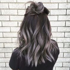 And now, friends, we have been blessed with the ~updated~ trend: Grey ombré…