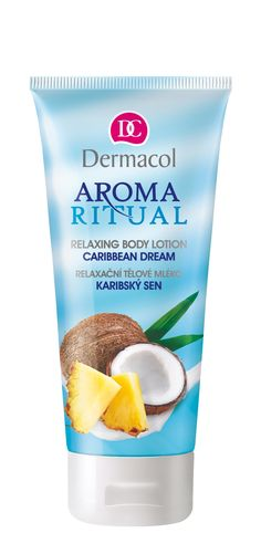 Aroma Ritual Body Lotion Caribbean Dream by Dermacol for Women Cosmetics 200ml