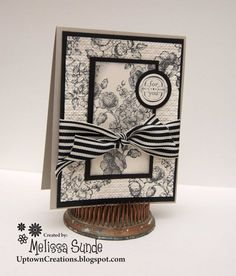 stampin up elements of style cards | This card was made using the Elements of Style stamp set. Very elegant ...
